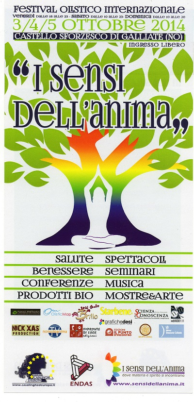 I Sensi dell'Anima flyer piccolo