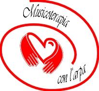Musicoterapia con l'arpa logo