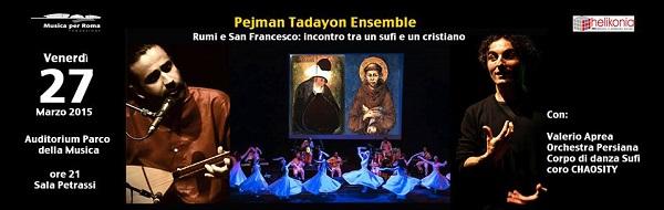 Rumi e San Francesco Pejman Tadayon