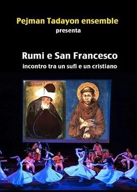 Rumi e San Francesco Pejman Tadayon vert 270-2