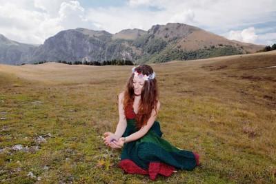 Samantha Papetti foto fiori
