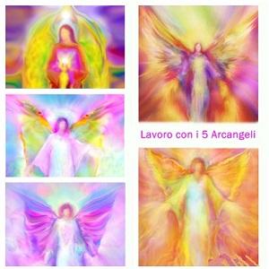 Lavoro con i 5 angeli 300
