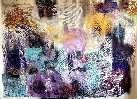 canvas 2015 Acrylic Dimentions 150 200 cm 450