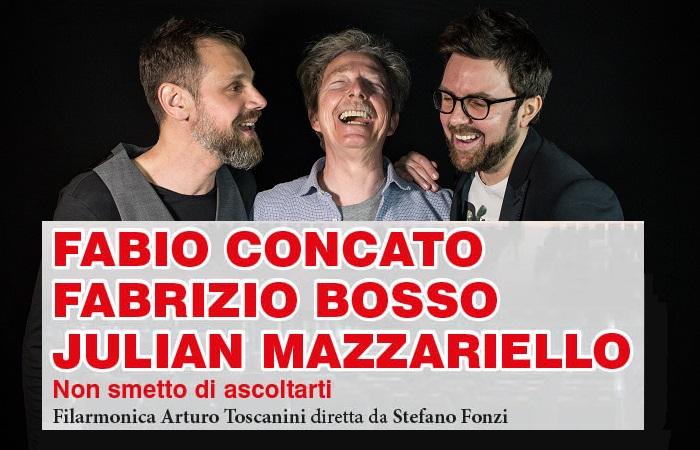 Concato, Bosso, Mazzariello - PH Antonella Aresta