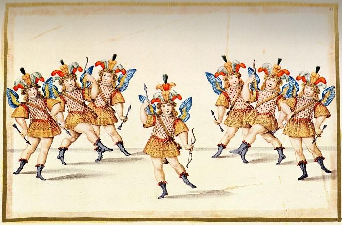 Hercole e Amore - Filippo d'Agliè - Balletto degli amori_ Torino, Biblioteca Reale 700