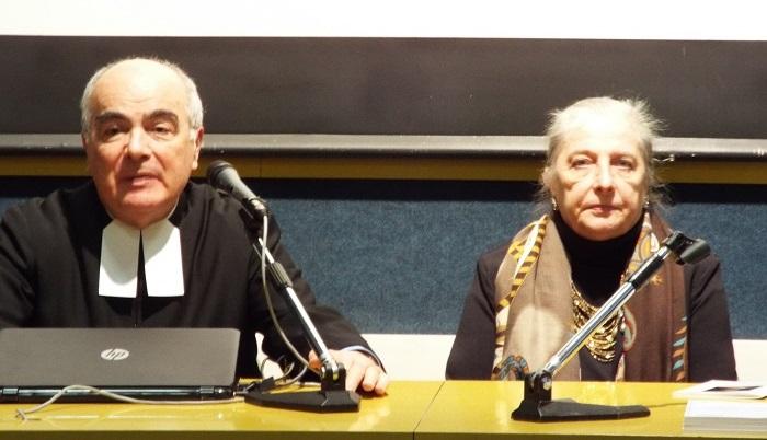 Fr. Alfredo Centra e la D.ssa Donatella Taverna 2