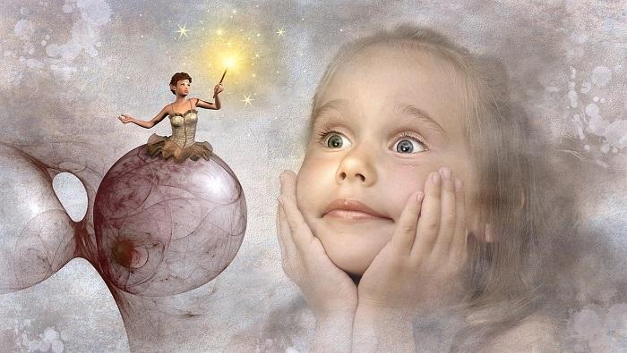 LA bambina e il suo sogno