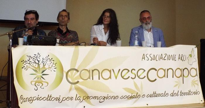 Convegno Cannabis Terapeutica - Tavolo dei Relatori