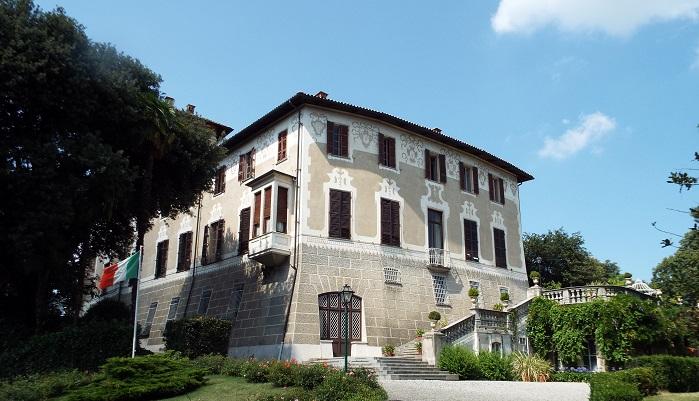 20 ottobre 2018 - Castello di Mercenasco_facciata ingresso
