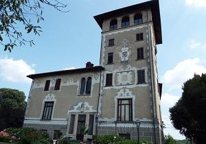 20 ottobre 2018 - Castello di Mercenasco_facciata torre