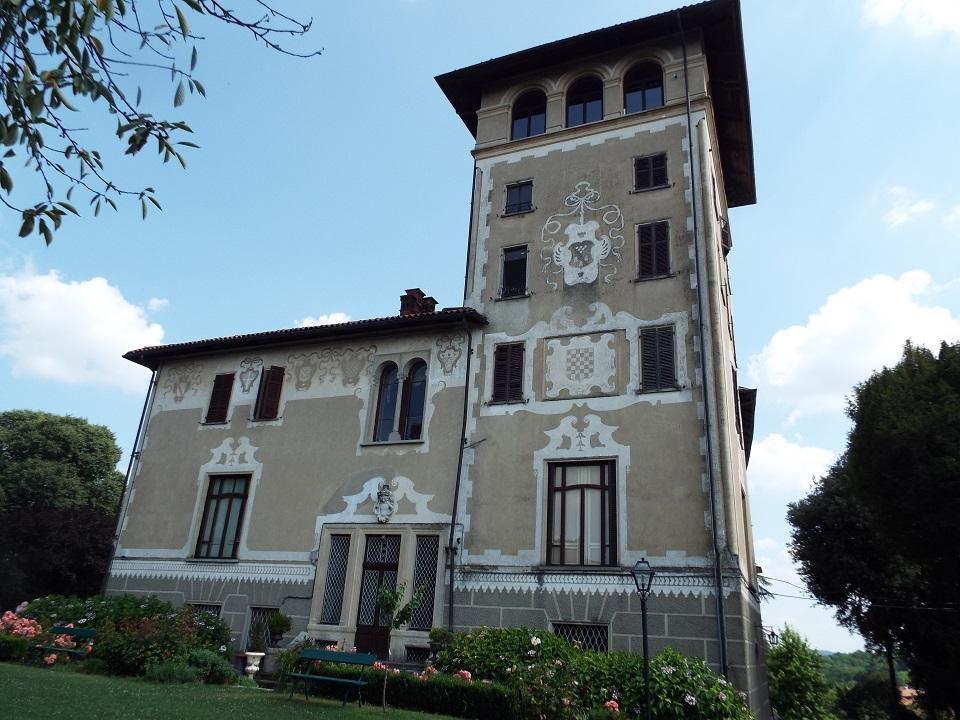20 ottobre 2018_Castello di Mercenasco_facciata torre