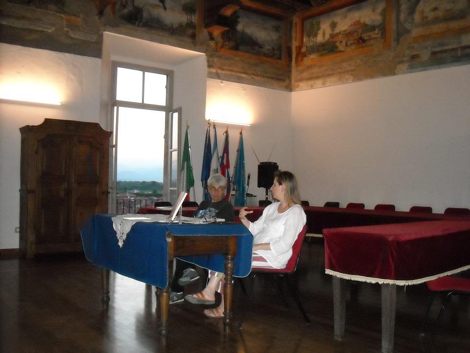 22 settembre_Castello di Foglizzo Presentazione libro in Sala Consigliare
