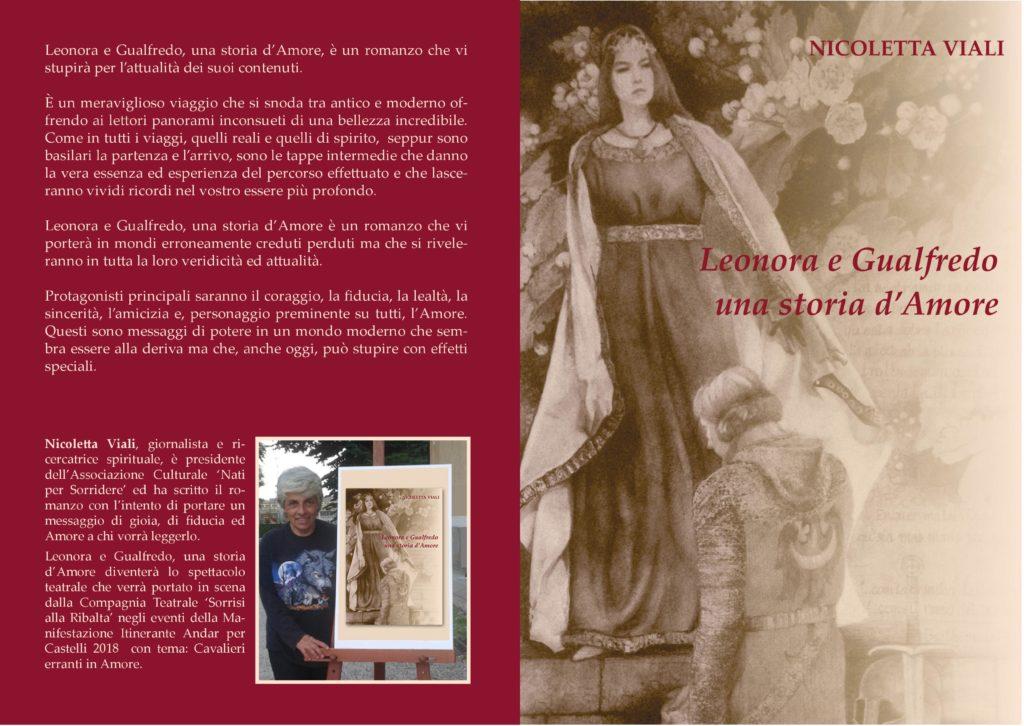 Leonora e Gualfredo, una storia d'Amore - Copertina
