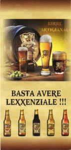 Lexxenziale la birra artigianale motto 2