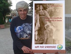 Leonora e Gualfredo libro e Nicoletta Viali l'Autrice