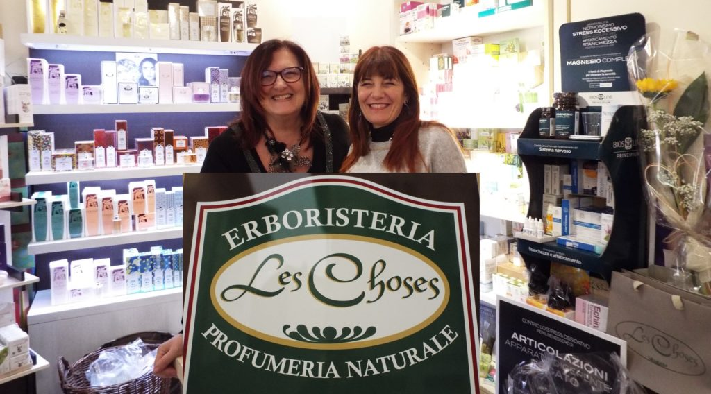 Erboristeria Les Choses_le proprietarie