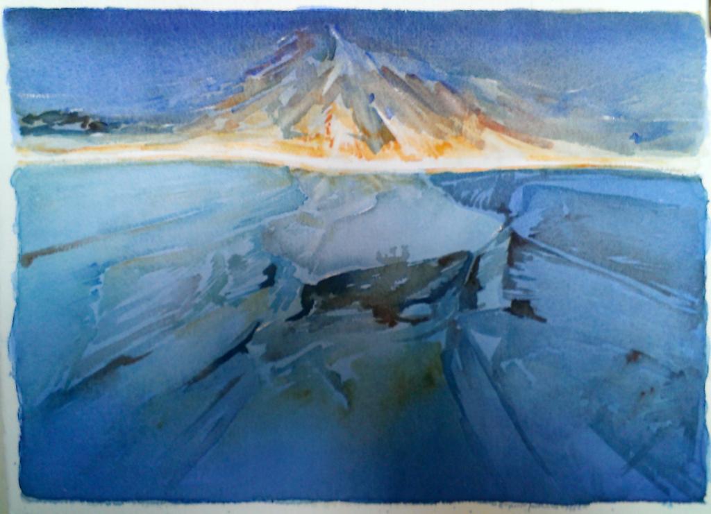 Luce in mostra - Eugenio Gabanino, Montagna di luce
