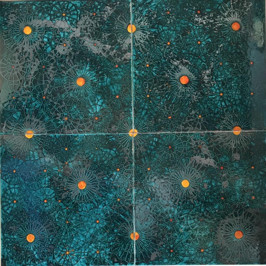 Luce in mostra - Elvio Arancio, Geometrie luminose