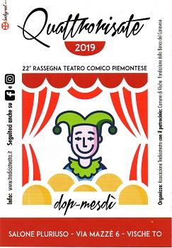Quattro risate - 22^ Rassegna Teatro Comico dei Tredici a Teatro_loc