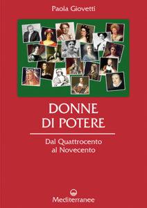 Copertina Donne di Potere di Paola Giovetti